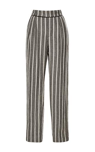 Medium sea multi japanese stripes trousers 2