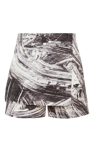 Medium zoe jordan print jacquard sala shorts
