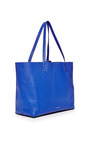 Tumble Leather Tote In Royal by MANSUR GAVRIEL Now Available on Moda Operandi