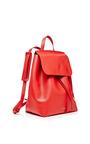 Calf Leather Backpack In Flamma by MANSUR GAVRIEL for Preorder on Moda Operandi