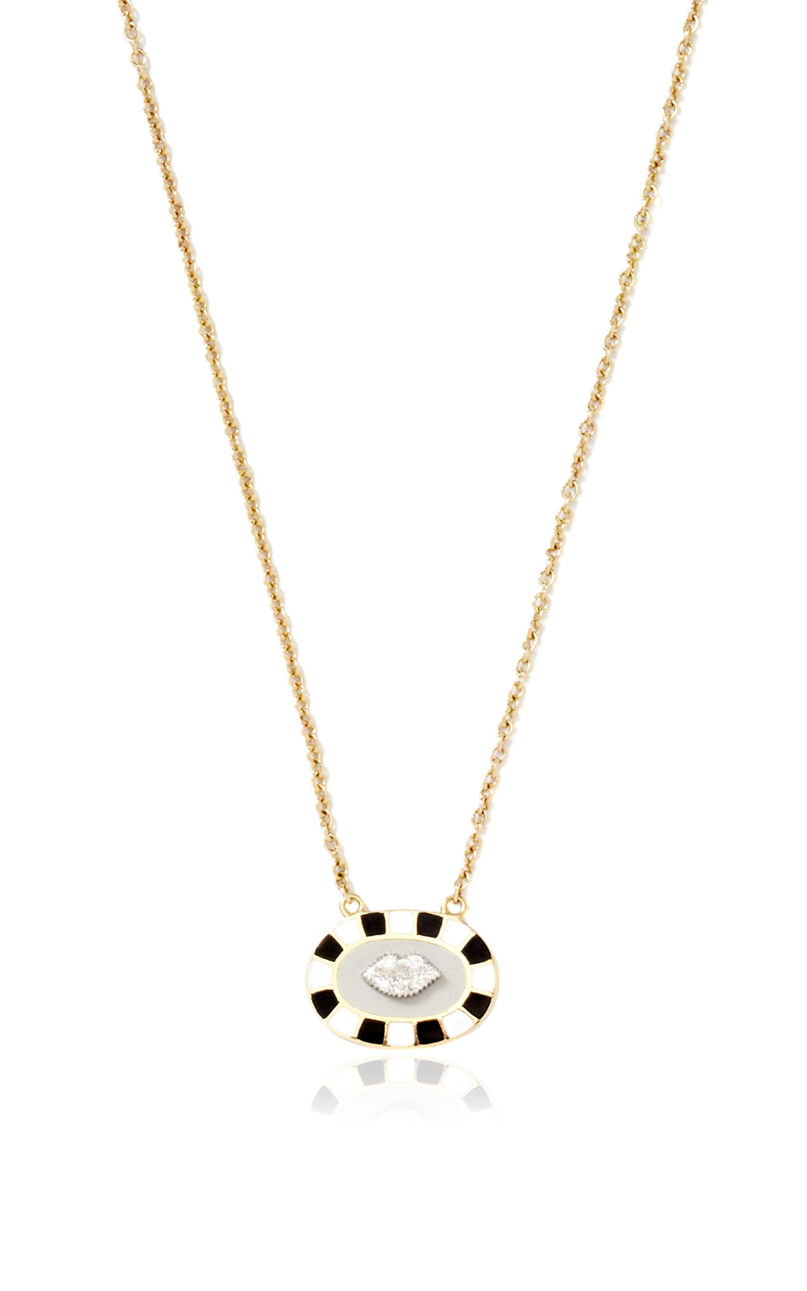 Holly Dyment Necklace with Mini Lip Pendant WBYB60ml