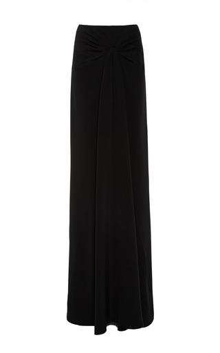 Medium cushnie et ochs black silk crepe black skirt