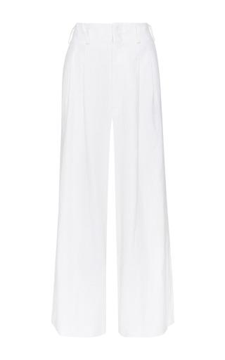Medium apiece apart white taiyana wide leg pants in white