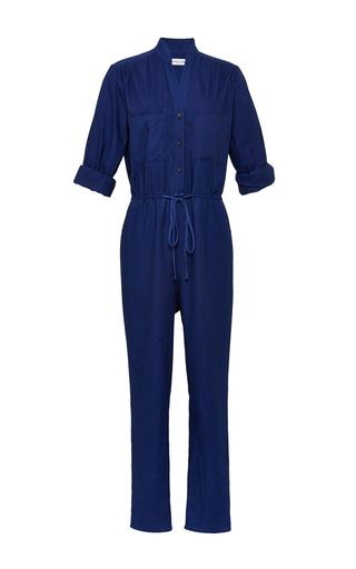 Medium apiece apart blue hera flight suit in indigo