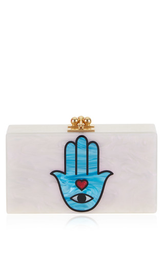 Medium edie parker multi jean sacred hand clutch 2