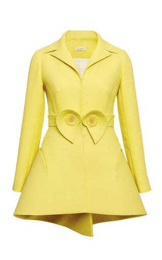 Medium delpozo yellow lemon yellow double paper twill jacket