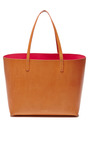 Large Tote In Cammello With Dolly Interior by MANSUR GAVRIEL Now Available on Moda Operandi