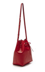 Large Bucket Bag In Flamma With Flamma Interior by MANSUR GAVRIEL Now Available on Moda Operandi