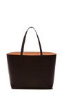 Large Tote In Black With Ballerina Interior by MANSUR GAVRIEL Now Available on Moda Operandi