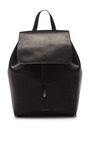Backpack In Black With Flamma Interior by MANSUR GAVRIEL Now Available on Moda Operandi