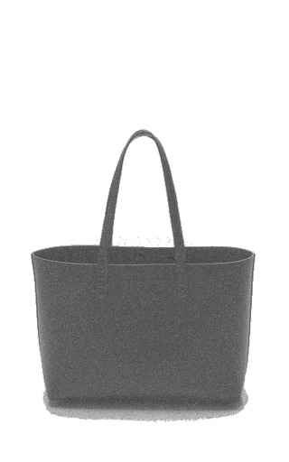 Small Tote In Blu With Blu Interior by MANSUR GAVRIEL Now Available on Moda Operandi
