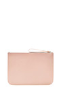 Large Wallet In Rosa With Rosa Interior by MANSUR GAVRIEL Now Available on Moda Operandi