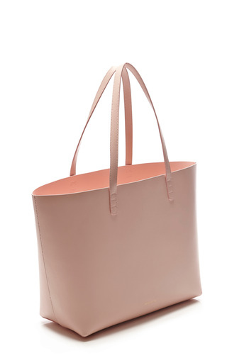 Large Tote In Rosa With Rosa Interior by MANSUR GAVRIEL Now Available on Moda Operandi
