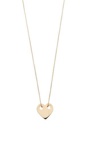 Medium ginette ny gold mini heart on chain