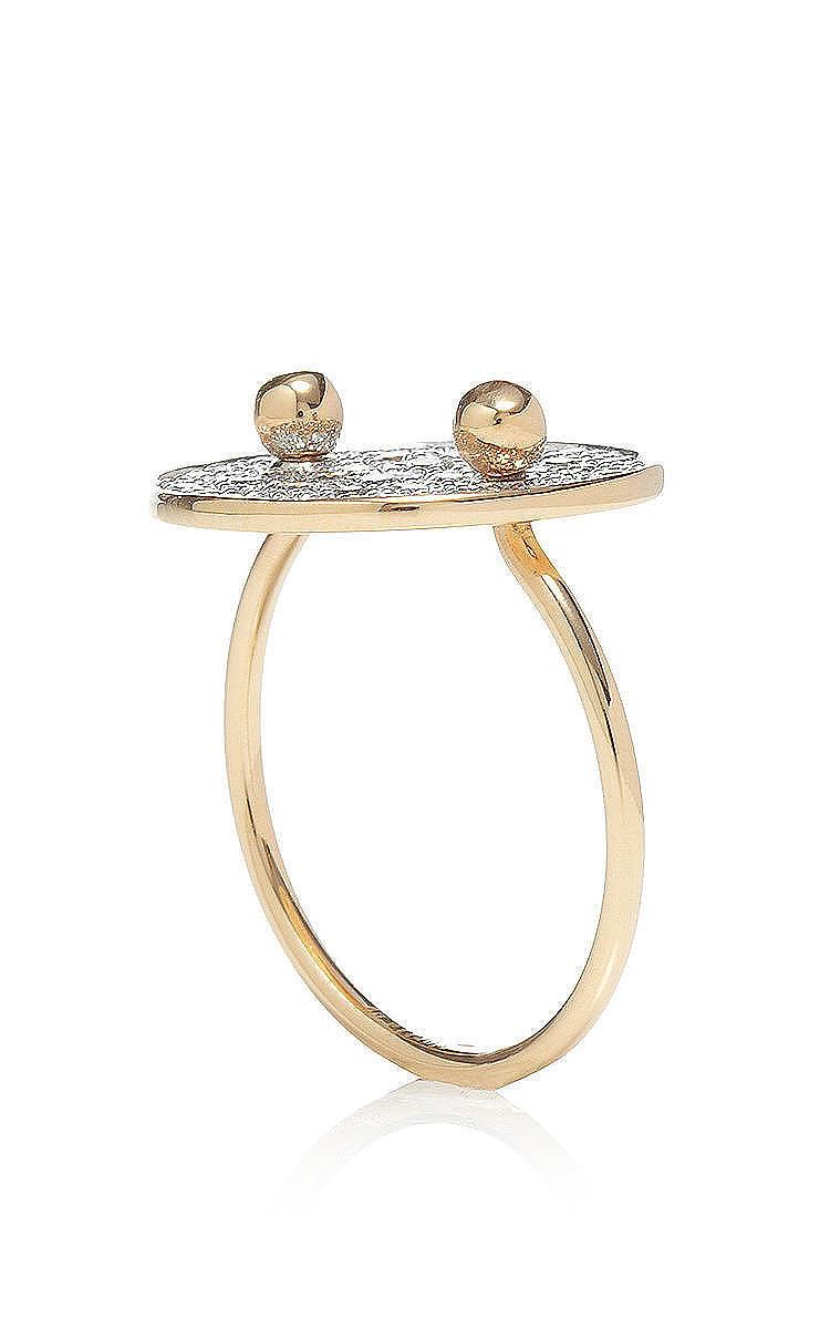 Large Galaxy Diamond Ring By Ginette Ny Moda Operandi