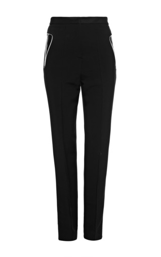 Medium alexander wang white referee chalk high waisted pant with sneaker detail pockets
