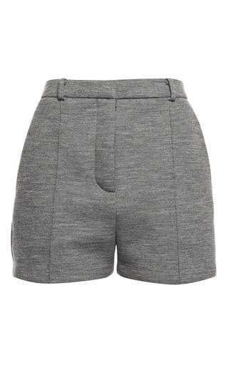 Medium alexander wang dark grey pavement tailored jogging short with pintucks