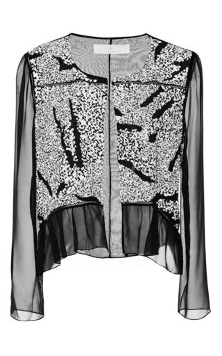 Medium thakoon addition black sequin jacket