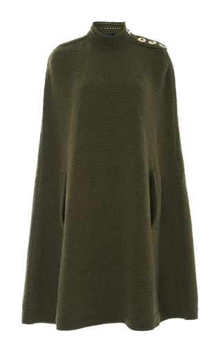 Medium marc jacobs green military green long cape