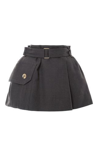Medium marc jacobs green military green melange high waist skirt