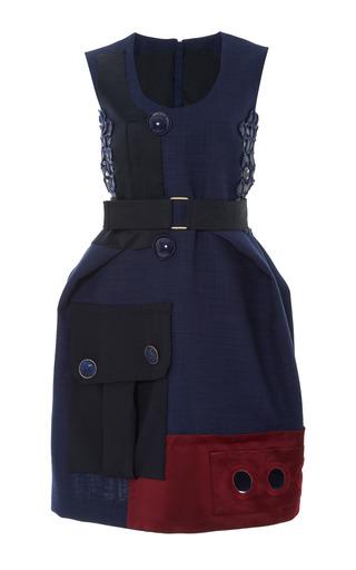 Medium marc jacobs blue blue strapless two pocket dress