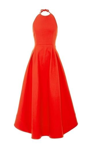 Medium rosie assoulin red moustache dress