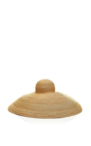 Medium rosie assoulin brown large brimmed sunhat