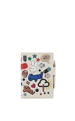 Medium anya hindmarch multi stickered up a5 two way journal 2