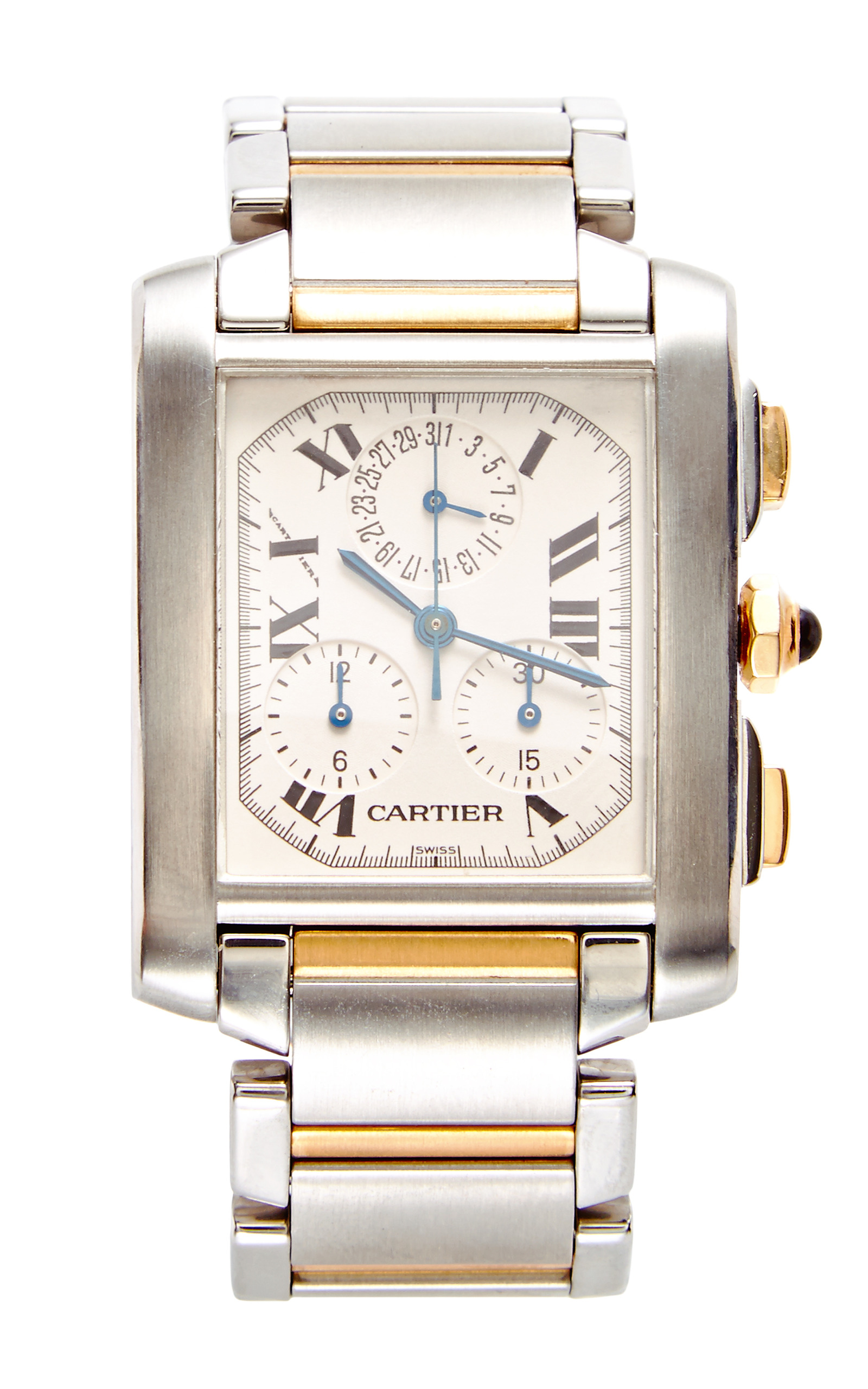 stainless brands dial watch ladies quartz bucherer tank cartier watches silver francaise steel