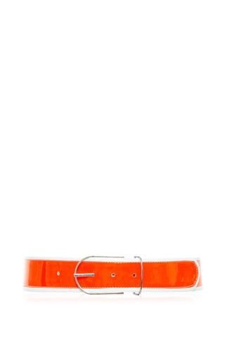 Medium tanya taylor white orange and white bobby belt