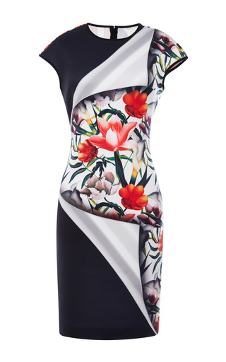 Medium clover canyon multi neoprene turning flower dress
