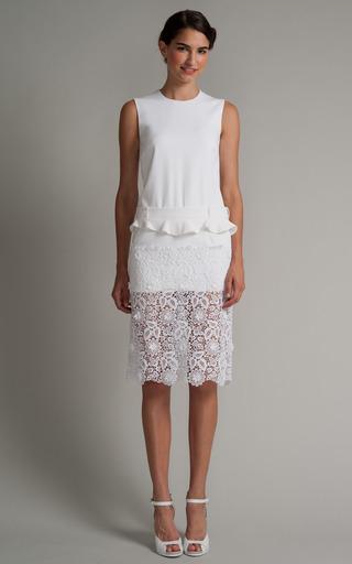 Medium preen white tilly dress