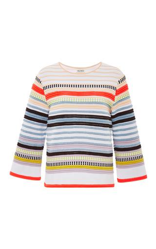 Medium suno stripe neon stripe crazy ottoman top