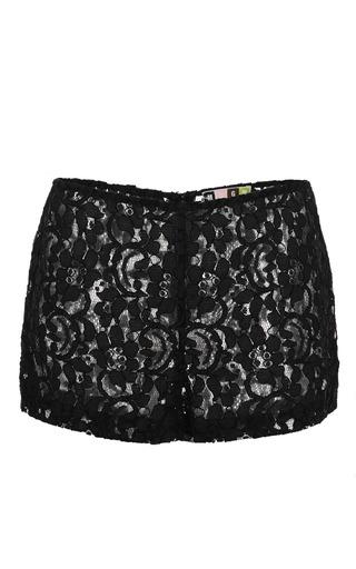 Medium msgm black black lace short