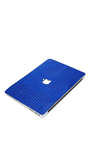 Cobalt Python 13 In Macbook Air Leather Back by VALENTINE GOODS Now Available on Moda Operandi