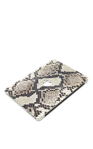 Python 13 In Macbook Air Leather Back by VALENTINE GOODS Now Available on Moda Operandi