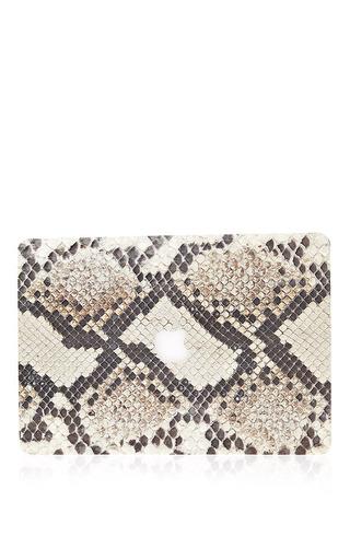 Medium valentine goods python 13in macbook air leather back