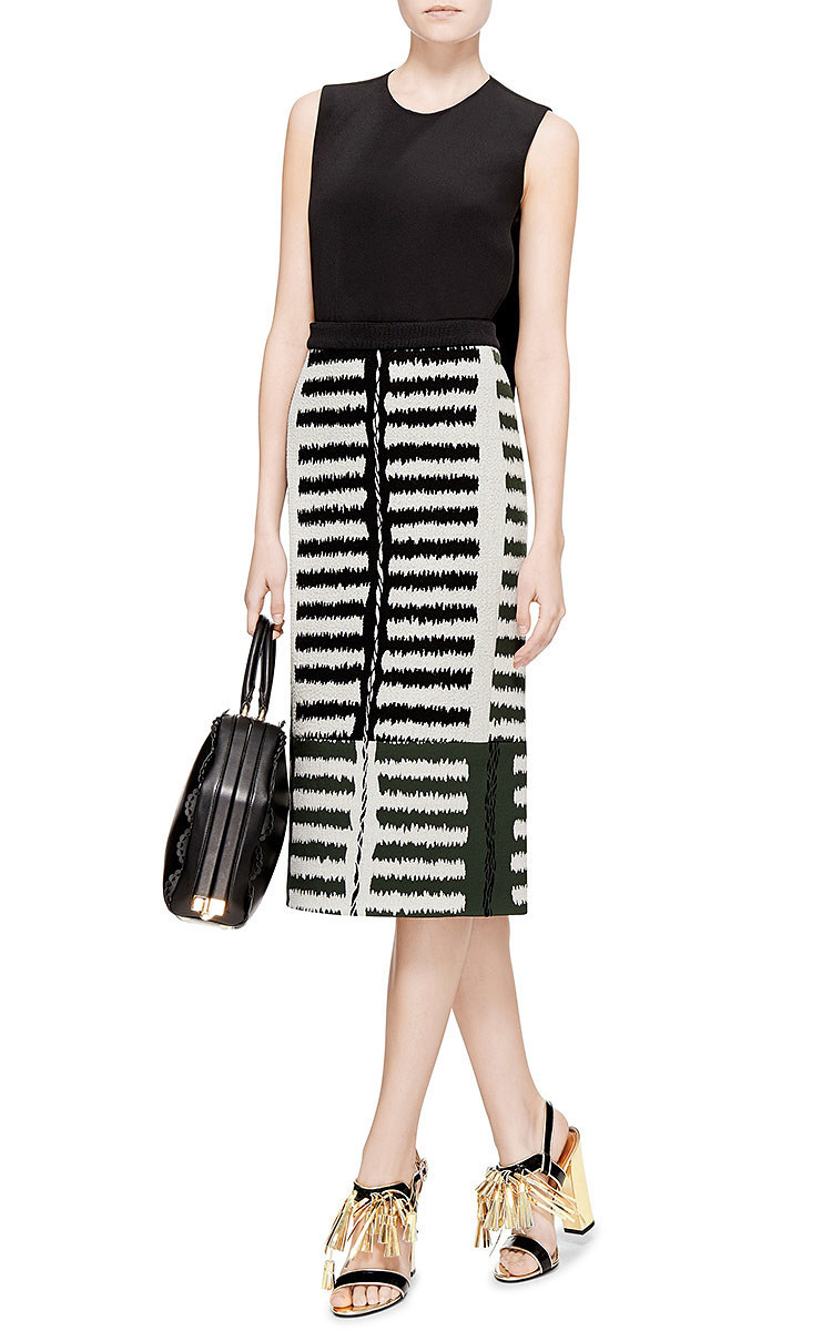 Stretch Jacquard Print Skirt By Marni Moda Operandi