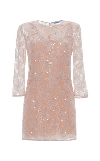 Medium blumarine pink embroidered tunic dress