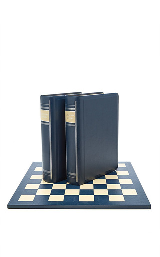 Staunton Chess Book Boxes With Single Thickness Board by GEOFFREY PARKER Now Available on Moda Operandi