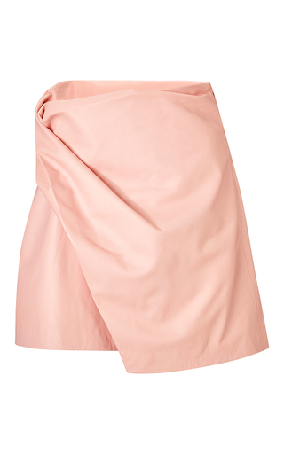 Medium j w anderson pink pink side drape skirt 2