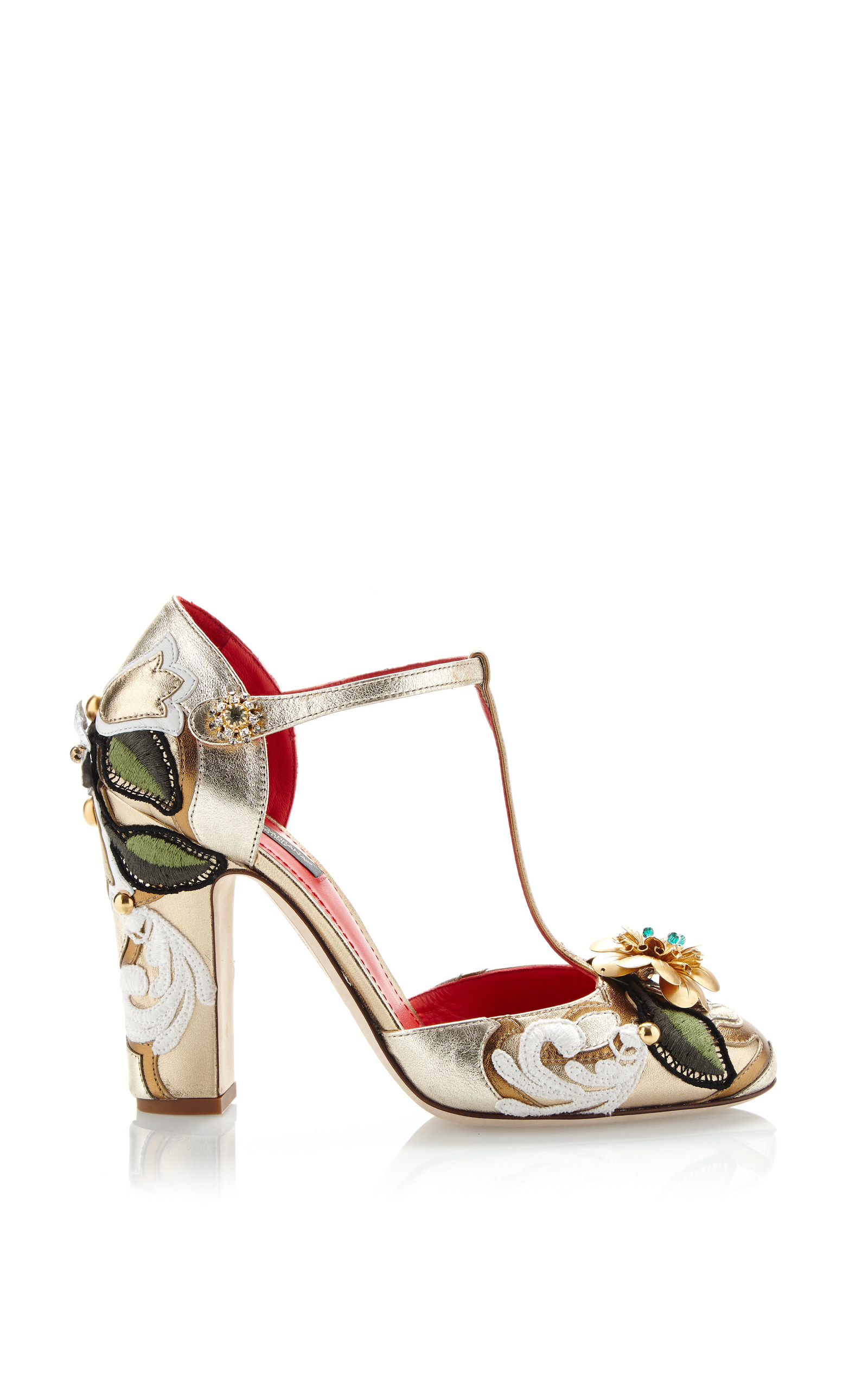 Dolce & Gabbana Metallic Leather Pumps authentic for sale limited edition online XTfAqyj