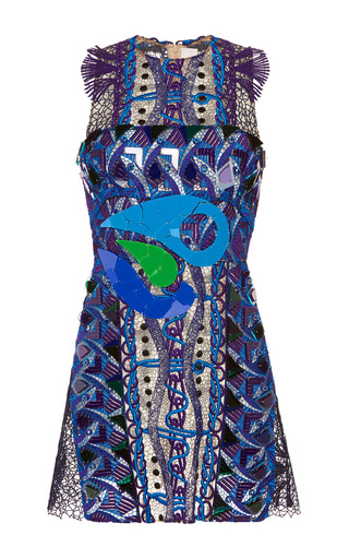 Medium peter pilotto blue blue opus dress
