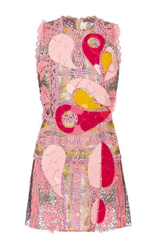Medium peter pilotto pink embellished acid pink paisley dress
