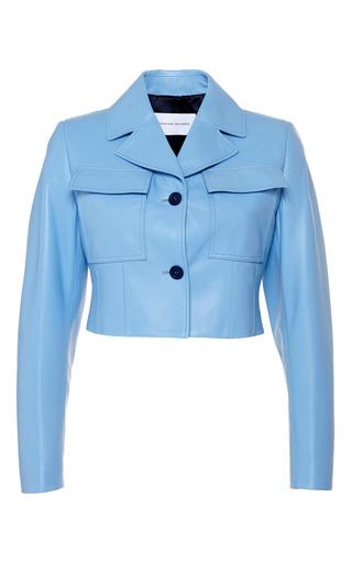 Medium jonathan saunders blue sky blue iris jacket