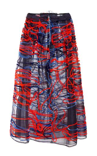 Medium roksanda ilincic multi italian embroidered rivington skirt