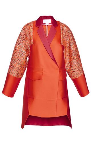 Medium antonio berardi red orange and red duster coat