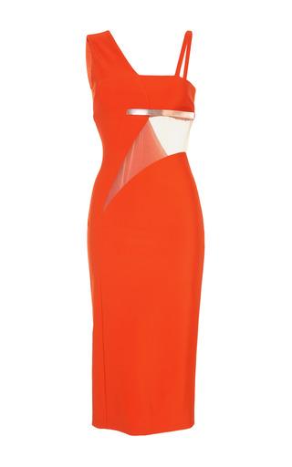 Medium mugler orange orange mega milano dress
