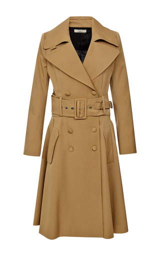 Medium bouchra jarrar brown saharien summer canvas coat 3