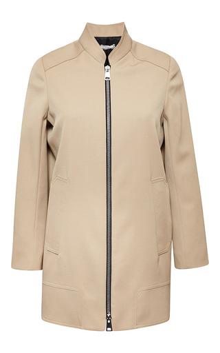 Medium bouchra jarrar brown saharien summer canvas jacket